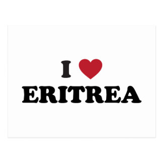 I Love Eritrea Postcard