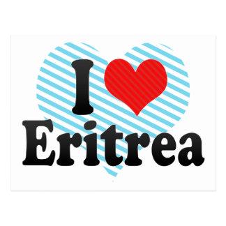 I Love Eritrea Postcards