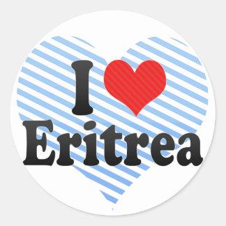 I Love Eritrea Stickers