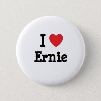 I love Ernie heart custom personalized Pinback Button