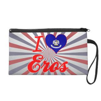 I Love Eros, Louisiana Wristlet Clutch