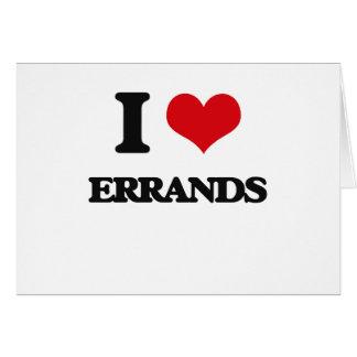 I love ERRANDS Cards