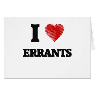 I love ERRANTS Card