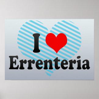 I Love Errenteria, Spain Posters