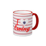 I Love Erving, Massachusetts Coffee Mug