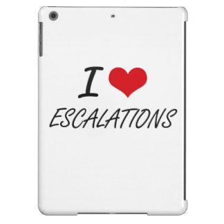 I love ESCALATIONS iPad Air Cover