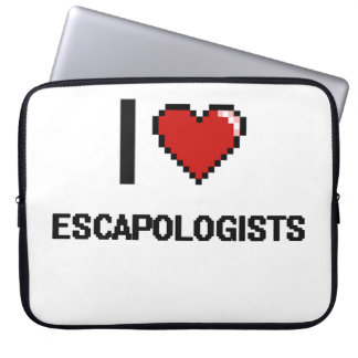 I love Escapologists Laptop Sleeve