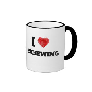 I love ESCHEWING Ringer Mug