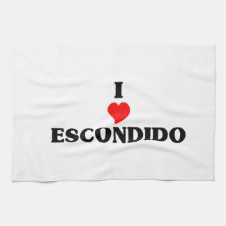 I love Escondido Kitchen Towel