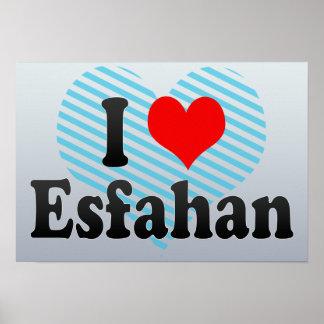 I Love Esfahan, Iran Poster