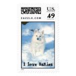 I love Eskies Stamp