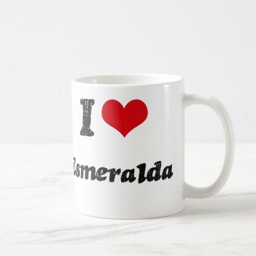 I Love Esmeralda Coffee Mugs