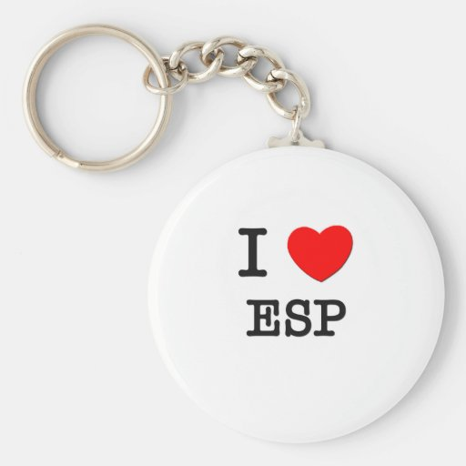 I love Esp Key Chain