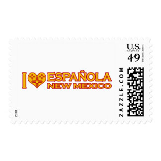 I Love Española, NM Postage Stamp