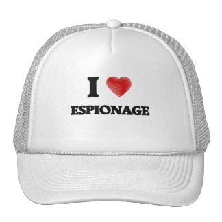 I love ESPIONAGE Trucker Hat