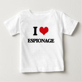 I love ESPIONAGE Tee Shirts