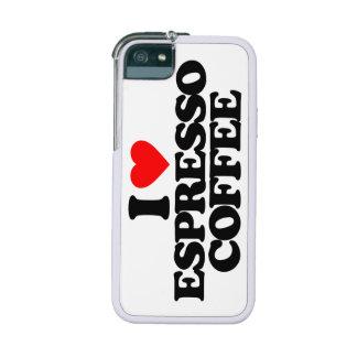 I LOVE ESPRESSO COFFEE CASE FOR iPhone 5/5S