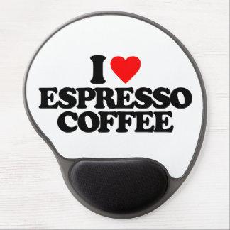 I LOVE ESPRESSO COFFEE GEL MOUSE MAT