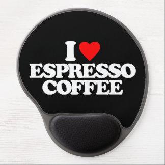 I LOVE ESPRESSO COFFEE GEL MOUSE PADS