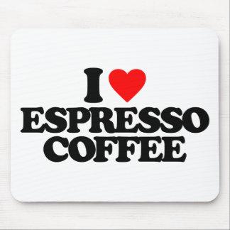 I LOVE ESPRESSO COFFEE MOUSE PAD