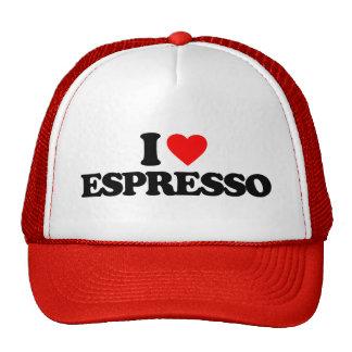 I LOVE ESPRESSO MESH HATS