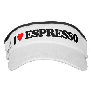 I LOVE ESPRESSO VISOR