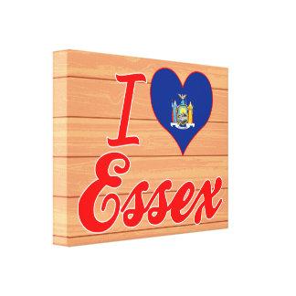 I Love Essex, New York Canvas Prints