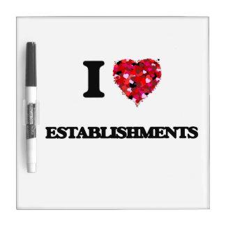 I love ESTABLISHMENTS Dry-Erase Boards