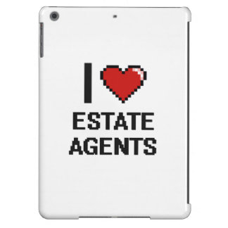 I love Estate Agents Case For iPad Air