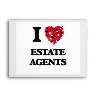 I love Estate Agents Envelope