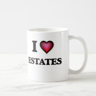 I love ESTATES Coffee Mug