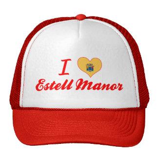 I Love Estell Manor, New Jersey Hats