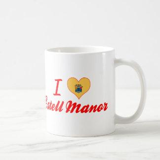 I Love Estell Manor, New Jersey Coffee Mug