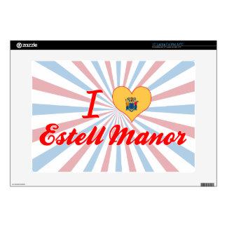 I Love Estell Manor, New Jersey Laptop Skin
