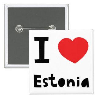 I love Estonia Pins