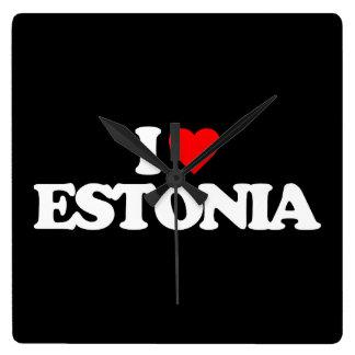 I LOVE ESTONIA CLOCK