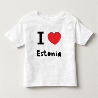 I love Estonia Toddler T-shirt