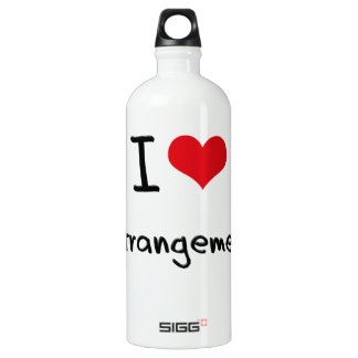 I love Estrangement SIGG Traveler 1.0L Water Bottle