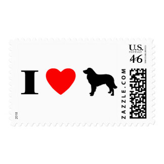 I Love Estrela Mountain Dogs Stamps