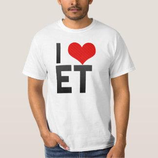 I Love ET Shirt