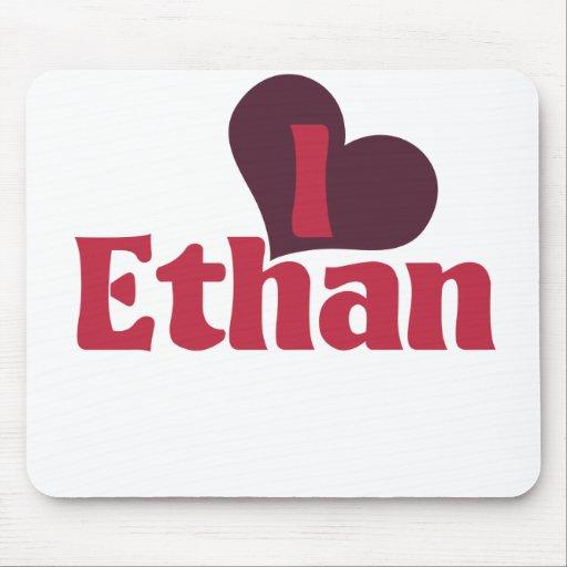 I Love Ethan Mousepad
