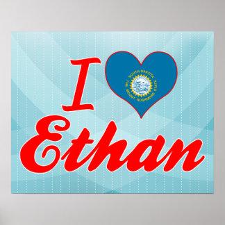 I Love Ethan, South Dakota Poster