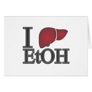 I Love Ethanol Card
