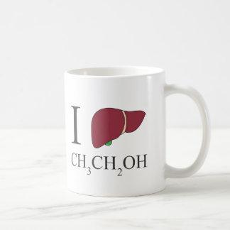 I Love Ethanol Classic White Coffee Mug