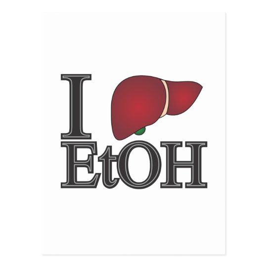 I Love Ethanol Postcard