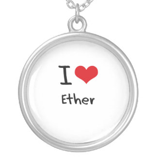 I love Ether Necklace