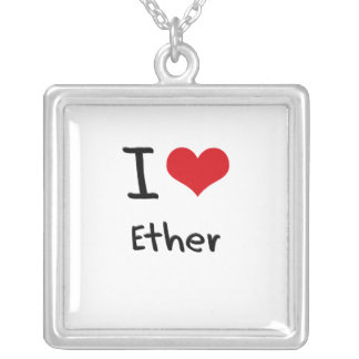 I love Ether Pendants