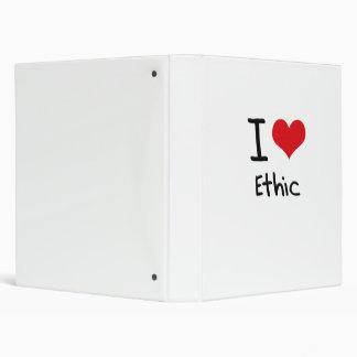 I love Ethic 3 Ring Binders