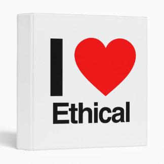 i love ethical vinyl binders