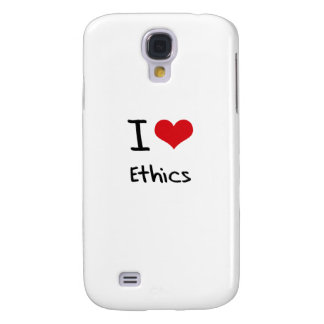 I love Ethics Galaxy S4 Covers